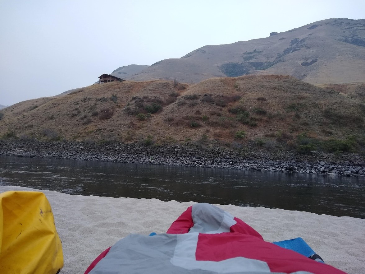 Salmon river camping