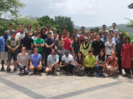 Workshop participants in Gamboa, Panama