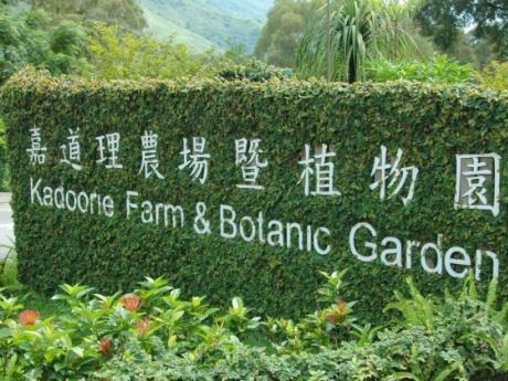logo of Kadoorie Farm & Botanic Garden