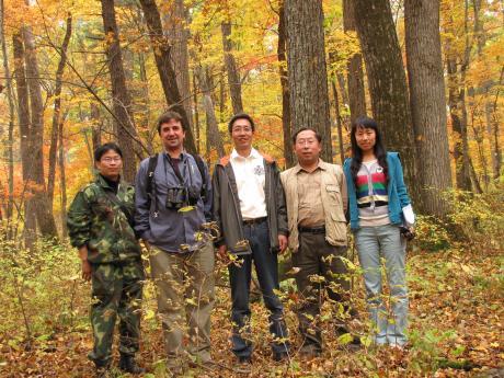 Changbaishan group photo