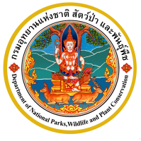 logo for Thai Department of National Parks, Wildlife and Plant Conservation