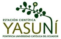 logo for yasuni